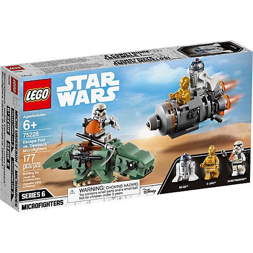 Конструктор LEGO Star Wars 75228: Спасательная капсула Микрофайтеры: дьюбэк от LEGO