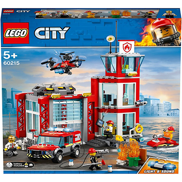 LEGO 60215 City: Feuerwehr-Station, LEGO City