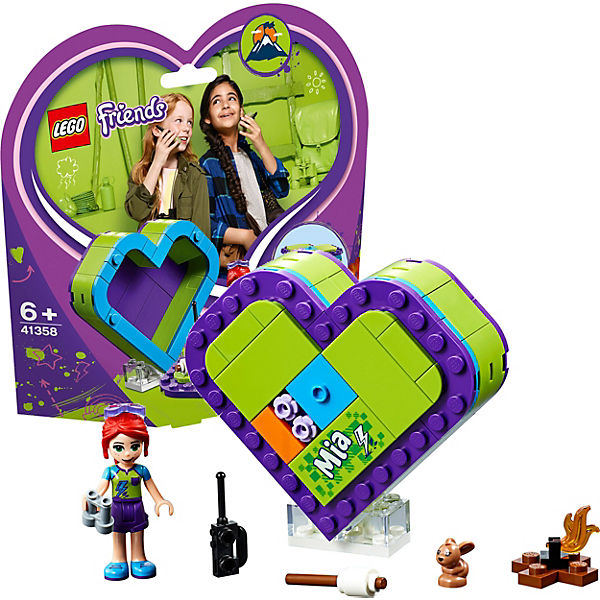 Конструктор LEGO Friends 41358: Шкатулка-сердечко Мии