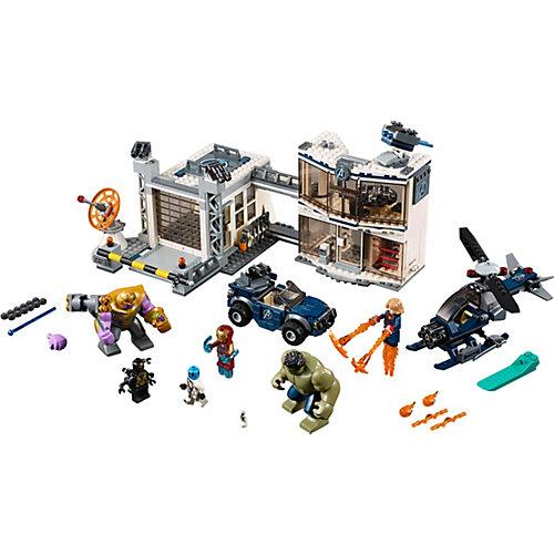 Конструктор LEGO Super Heroes 76131: Битва на базе Мстителей от LEGO