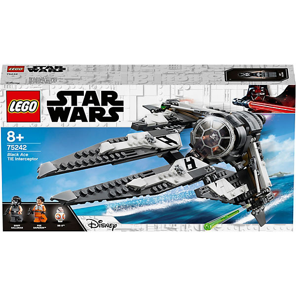 Конструктор LEGO Star Wars 75242: Перехватчик СИД Чёрного аса