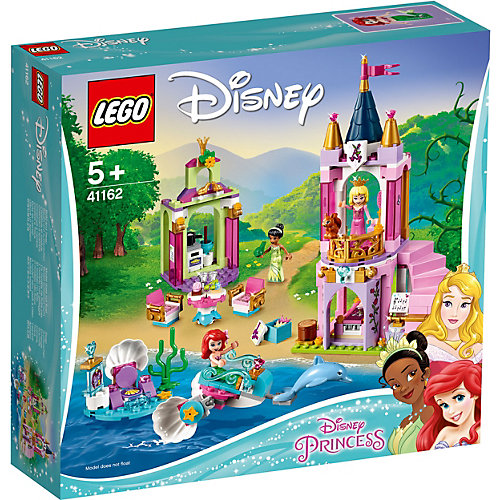 Конструктор LEGO Disney Princess 41162: Королевский праздник Ариэль, Авроры и Тианы от LEGO