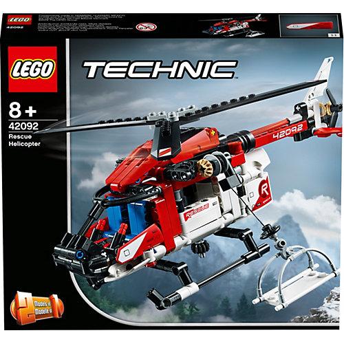 Конструктор LEGO Technic 42092: Спасательный вертолёт от LEGO