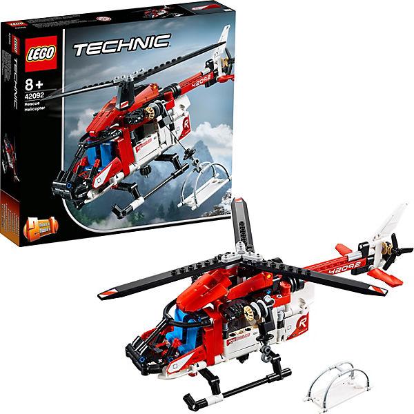 Конструктор LEGO Technic 42092: Спасательный вертолёт