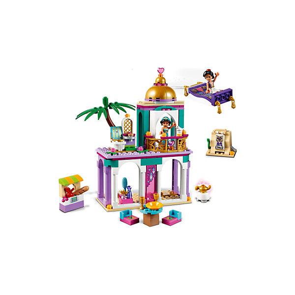 Конструктор LEGO Disney Princess 41161: Приключения Аладдина и Жасмин во дворце