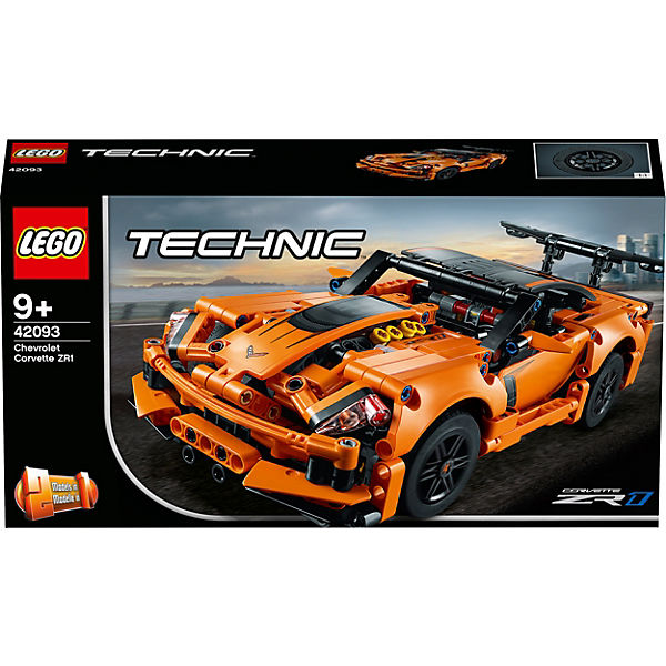 Конструктор LEGO Technic 42093: Chevrolet Corvette ZR1