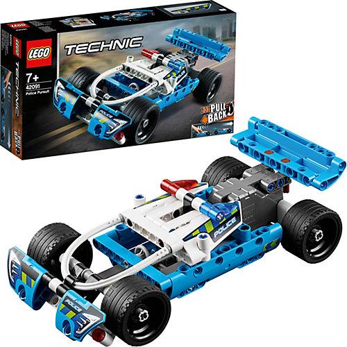 Конструктор LEGO Technic 42091: Полицейская погоня от LEGO
