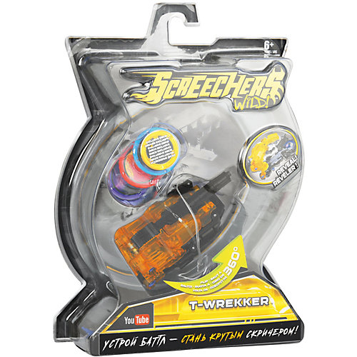 "Машинка-трансформер Screechers Wild ""Ти-Реккер"" от Screechers Wild"
