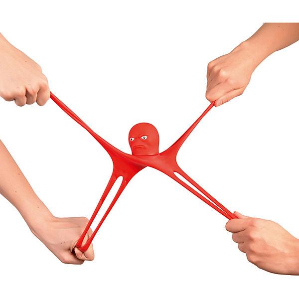 Тянущаяся минифигурка Stretch Armstrong Осьминог Стретч, красный