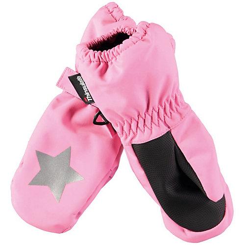 Варежки Molo - розовый от Molo