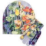Комплект: шапка и перчатки Molo для девочки