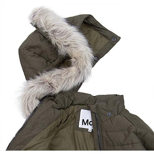 Утепленная куртка Molo - темно-зеленый от Molo