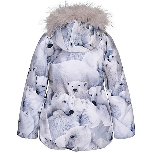 Утепленная куртка Molo - белый от Molo