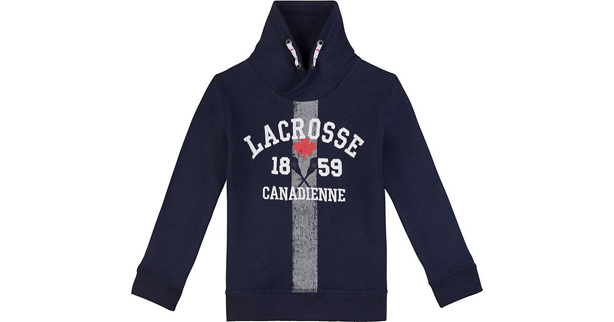 LACROSSE Canadienne · Sweatshirt mit Kapuze Gr. 128 Jungen Kinder