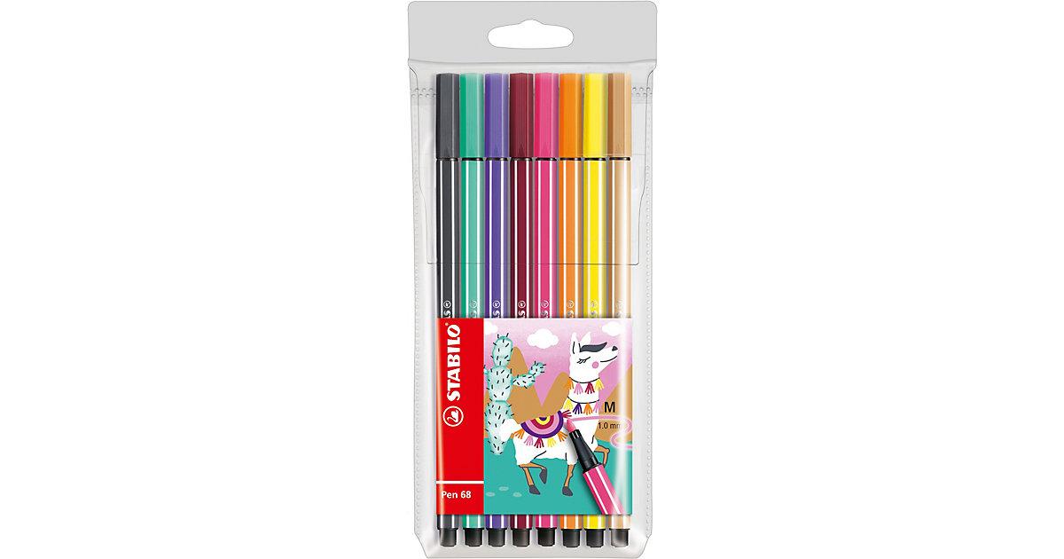 Filzstifte Pen 68 Etui Living Colors Ltd. Ed. Lama, 8 Farben