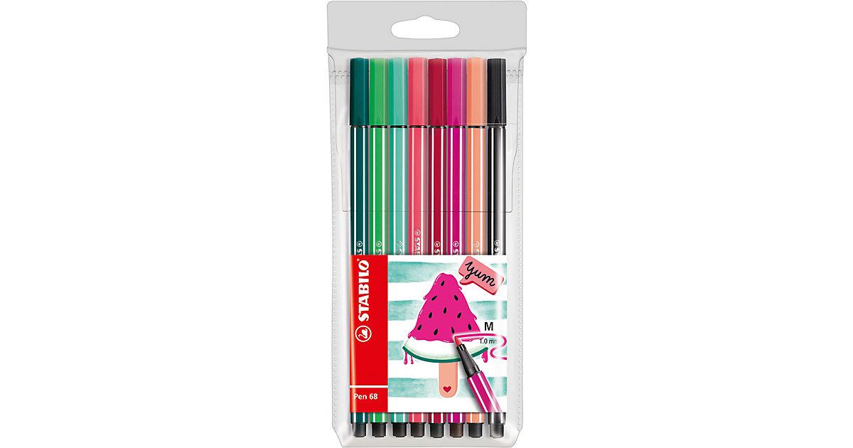 Filzstifte Pen 68 Etui Living Colors Ltd. Ed. Water Melon, 8 Farben