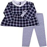 Комплект: футболка с длинным рукавом, брюки iDO для девочки