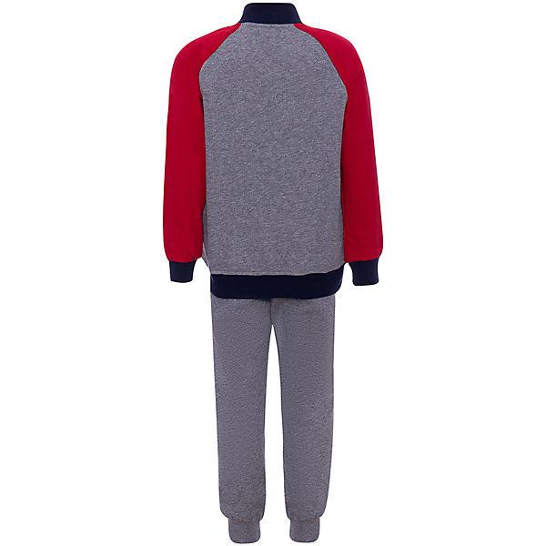Комплект: футболка с длинным рукавом, брюки iDO для мальчика