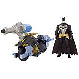 "Мотоцикл DC Super Heroes ""Batman"" с фигуркой Бэтмена, 15 см"