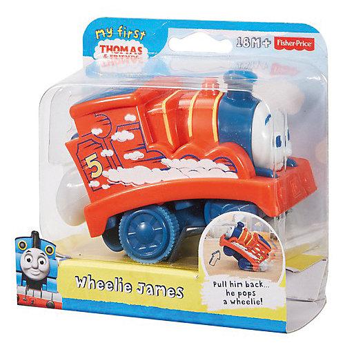 """Паровозик Fisher-Price """"Томас и его друзья"""" Джеймс от Mattel"""
