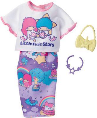 """Одежда для куклы Barbie """"Универсальный наряд коллаборации"""" Футболка и юбка-карандаш Hello Kitty"""