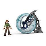 Игровой набор Jurassic World Imaginext Клэр и гиросфера