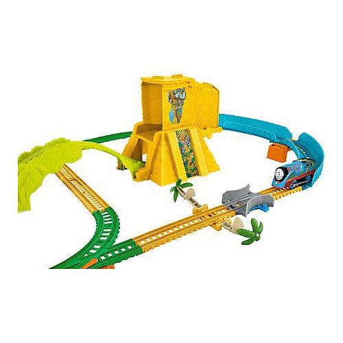 """Железная дорога Fisher-Price """"Томас и его друзья"""" Джунгли от Mattel"""