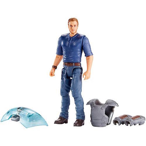 """Игровой набор Jurassic World """"Базовые фигурки"""" Дрессировщик Оуэн от Mattel"""