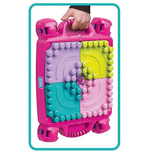 Стол для конструирования  MEGA BLOKS «Мой первый конструктор», розовый от Mattel