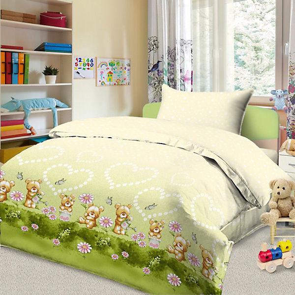 Детское постельное белье 3 предмета Letto, BG-90