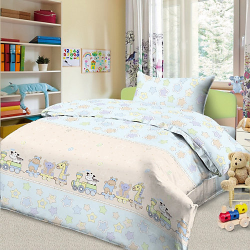 Детское постельное белье 3 предмета Letto, BG-86 от Letto