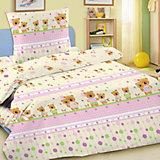 Детское постельное белье 3 предмета Letto, BG-14