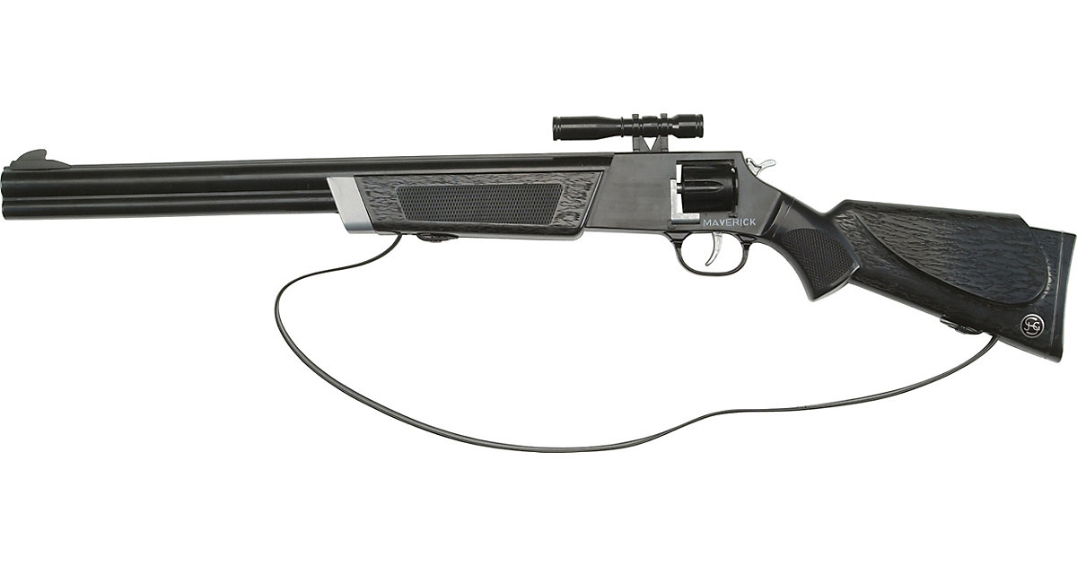 Maverick Gewehr 60cm, 8-Schuss, Tester Jungen Kinder