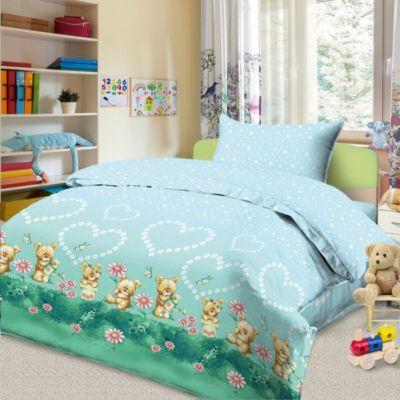 Детское постельное белье 3 предмета Letto, BG-89