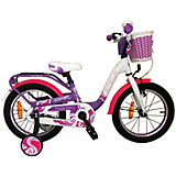 Велосипед Stels Pilot-190 16 дюймов, фиолетово-белый