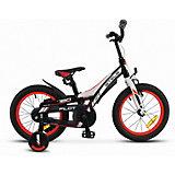 Велосипед Stels Pilot-180 16 дюймов, черно-красный