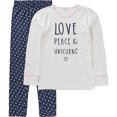 ESPRIT Schlafanzug HANNI Gr. 152 Mädchen Kinder | 04060469393378