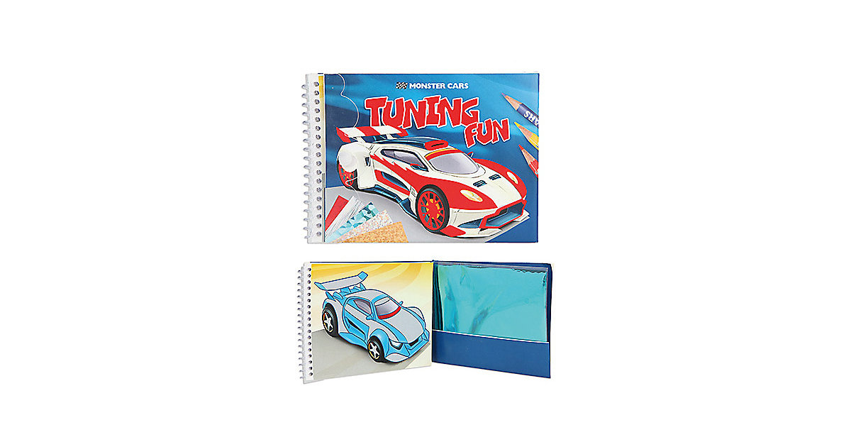 Buch - Monster Cars Tuning Fun Acticity-Book