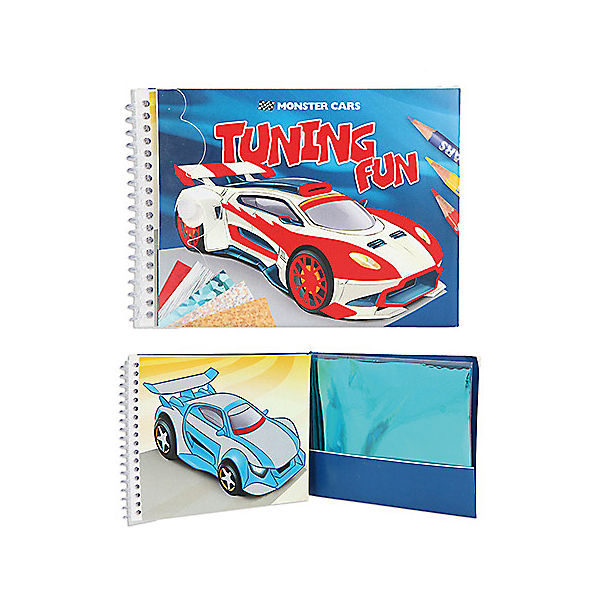 Monster Cars Tuning Fun Acticity-Book