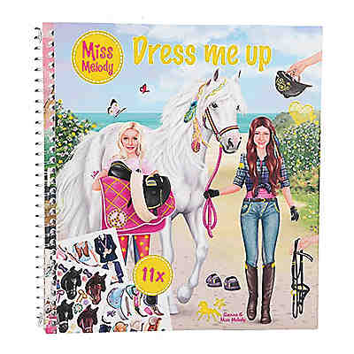 Miss Melody Dress me up Acticity-Book