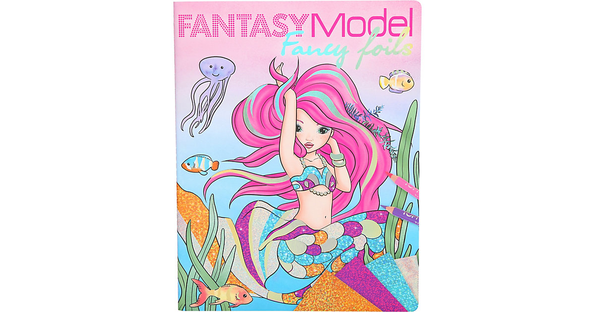 Depesche · Fantasy Model Activity-Buch Fany Foils