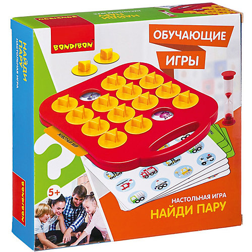 "Настольная игра Bondibon ""Найди пару"" от Bondibon"