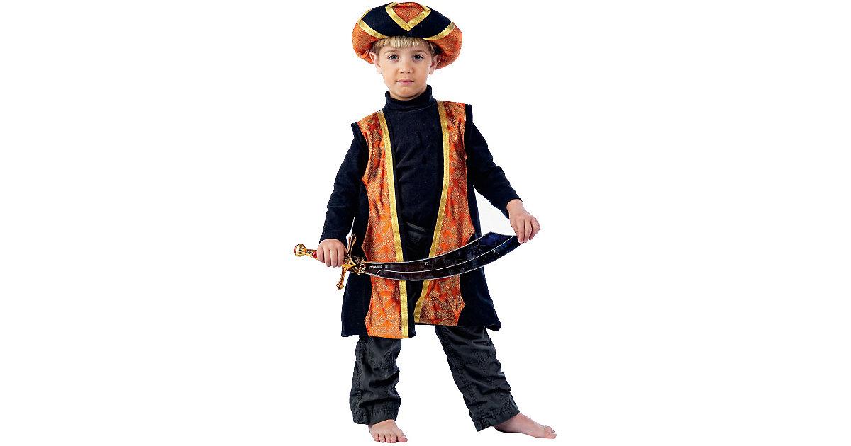 Kostüm Der Kleine Muck orange/schwarz Gr. 104/116 Jungen Kleinkinder