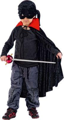 Kostüm Räuber, 2-tlg. schwarz Gr. 86 Jungen Kleinkinder
