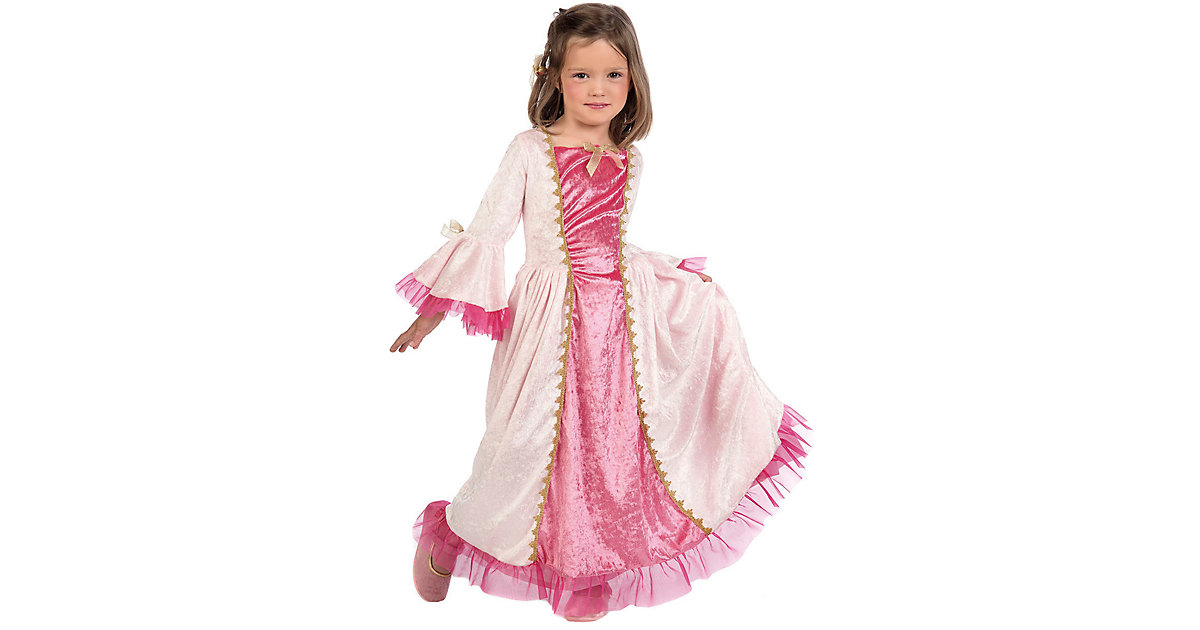 Kostüm Prinzessin rosa/weiß Gr. 116/128 Mädchen Kinder
