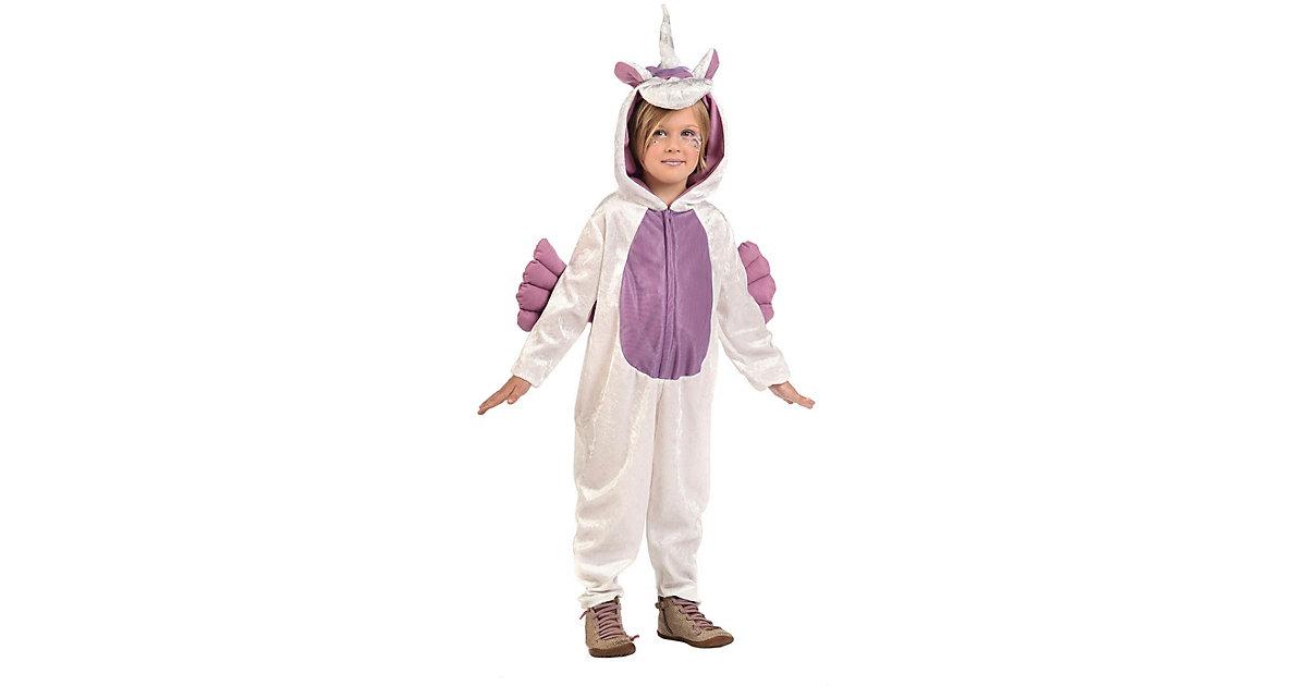 Kostüm Einhorn lila-kombi Gr. 104/116 Mädchen Kleinkinder