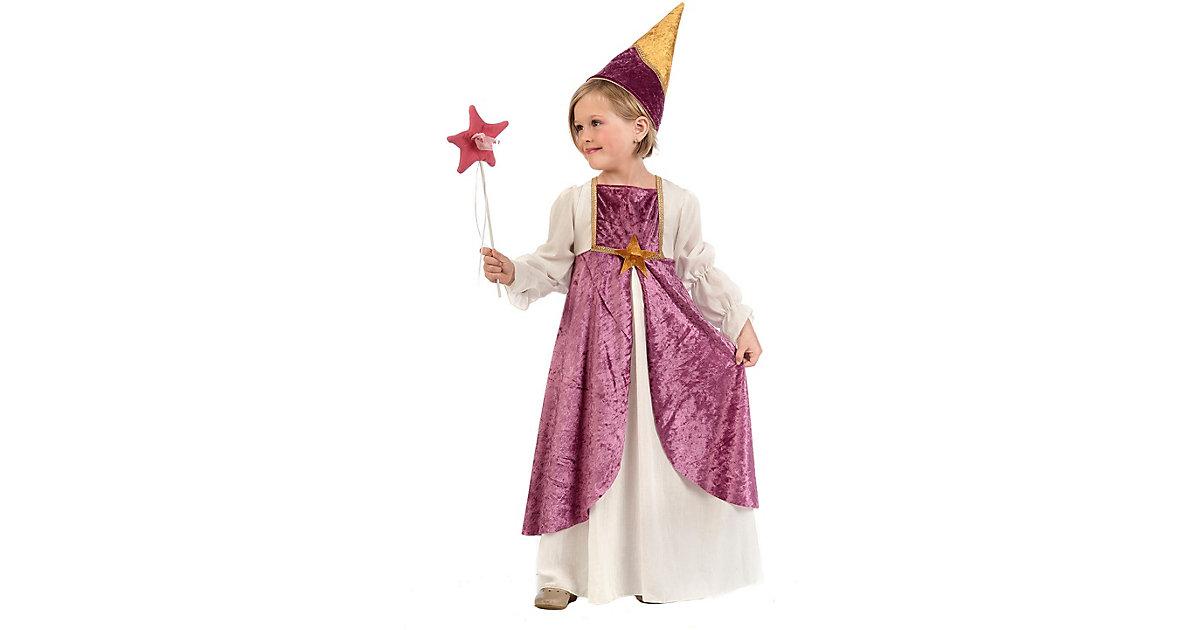 Kostüm Fee rosa/weiß Gr. 116/128 Mädchen Kinder