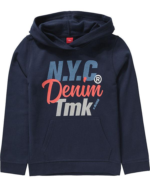 billiger Verkauf große Auswahl an Designs zuverlässiger Ruf Sweatshirt für Jungen, s.Oliver