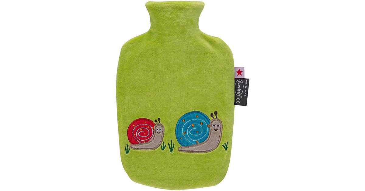 Fashy · Wärmflasche, Schnecke, grün