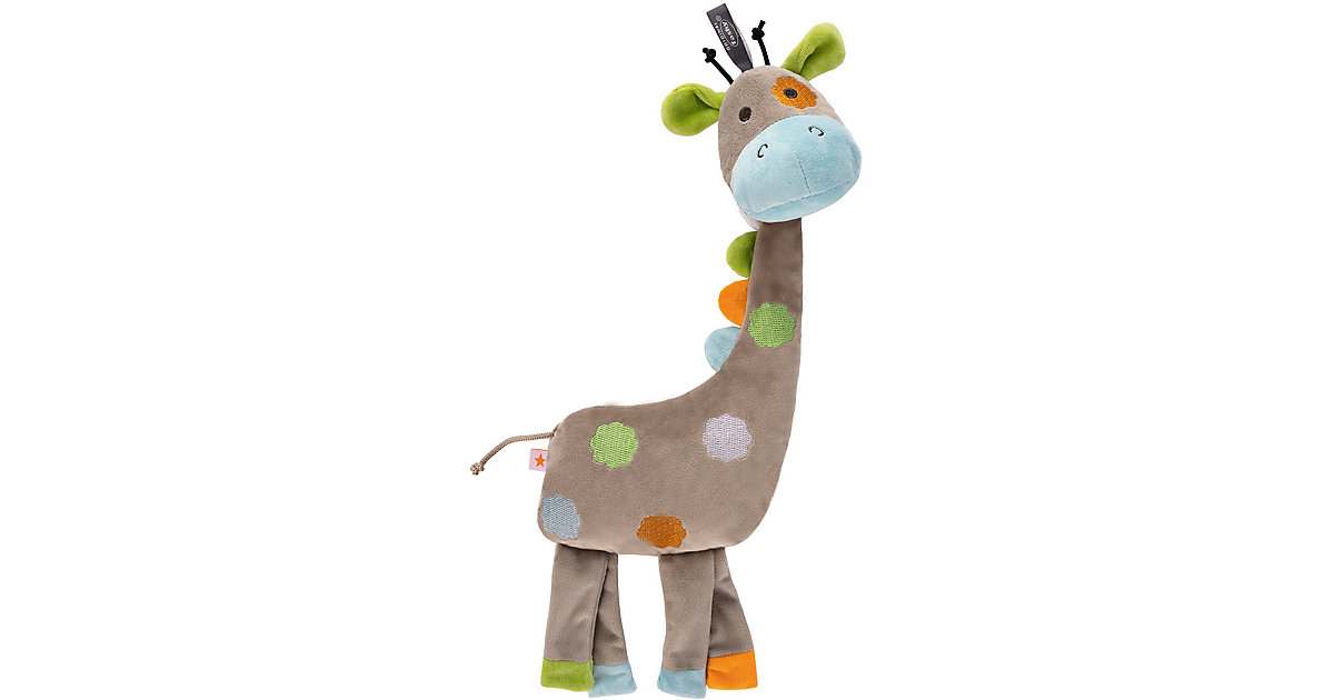 Fashy · Wärmekissen mit Rapssamenfüllung, Giraffe, braun